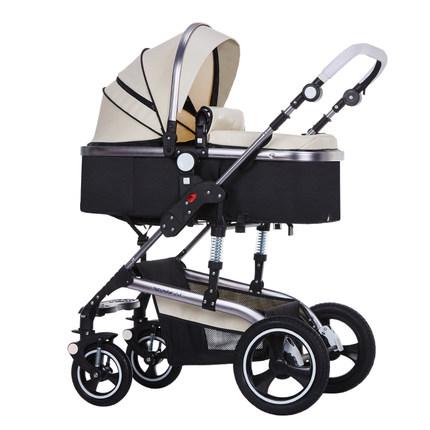 亿宝莱婴儿推车高景观可坐