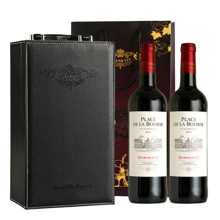 法国原瓶进口红酒礼盒装